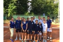 TCB-Föderkader beim Turnier in Hünefeld